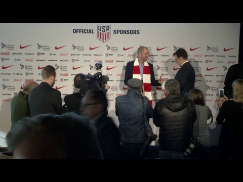 U.S. MNT Head Coach Gregg Berhalter Introductory Press Conference