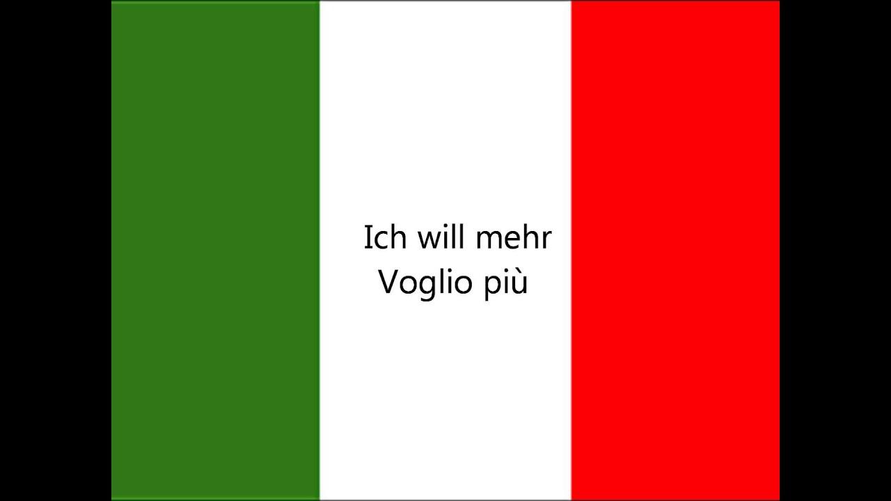 Italienisch Deutsch