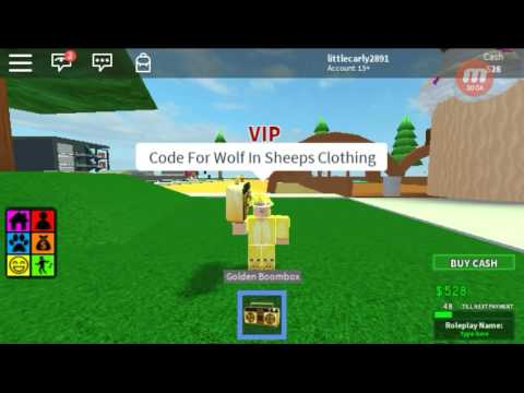 Song Id Wolf In Sheep S Clothing Roblox Only Youtube