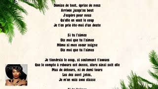 Fanny J - Dis le Moi (Video Lyrics)