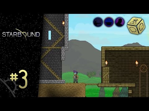 Plank prank - Let's Play Starbound #3