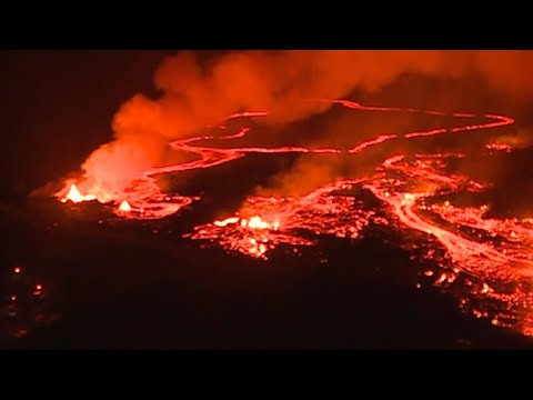 Hawaii neighborhood besieged by volcano's river of molten misery