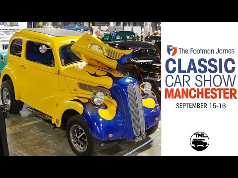 A speedy walk around Manchester Classic Car Show 2018