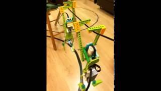 Робот обезьянка LEGO (робототехника в Ногинске) #robototehnikaLEGO
