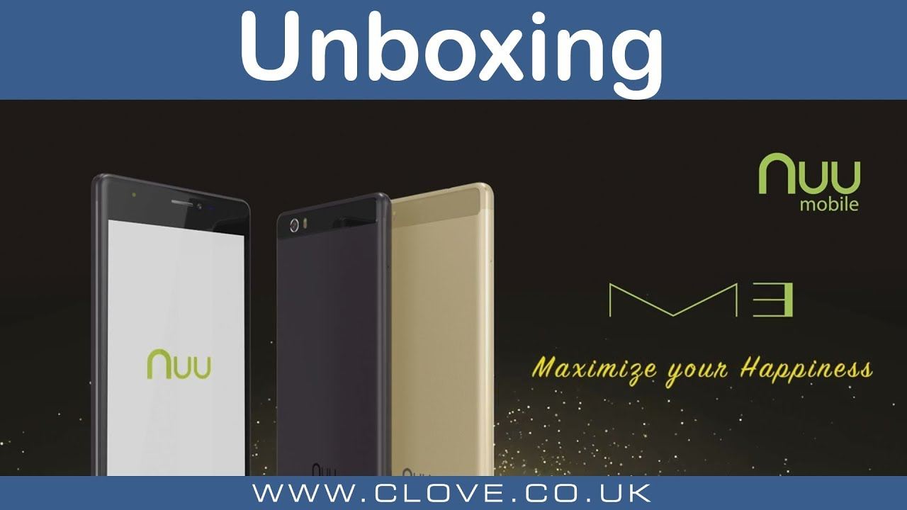 Nuu Mobile M3 Unboxing