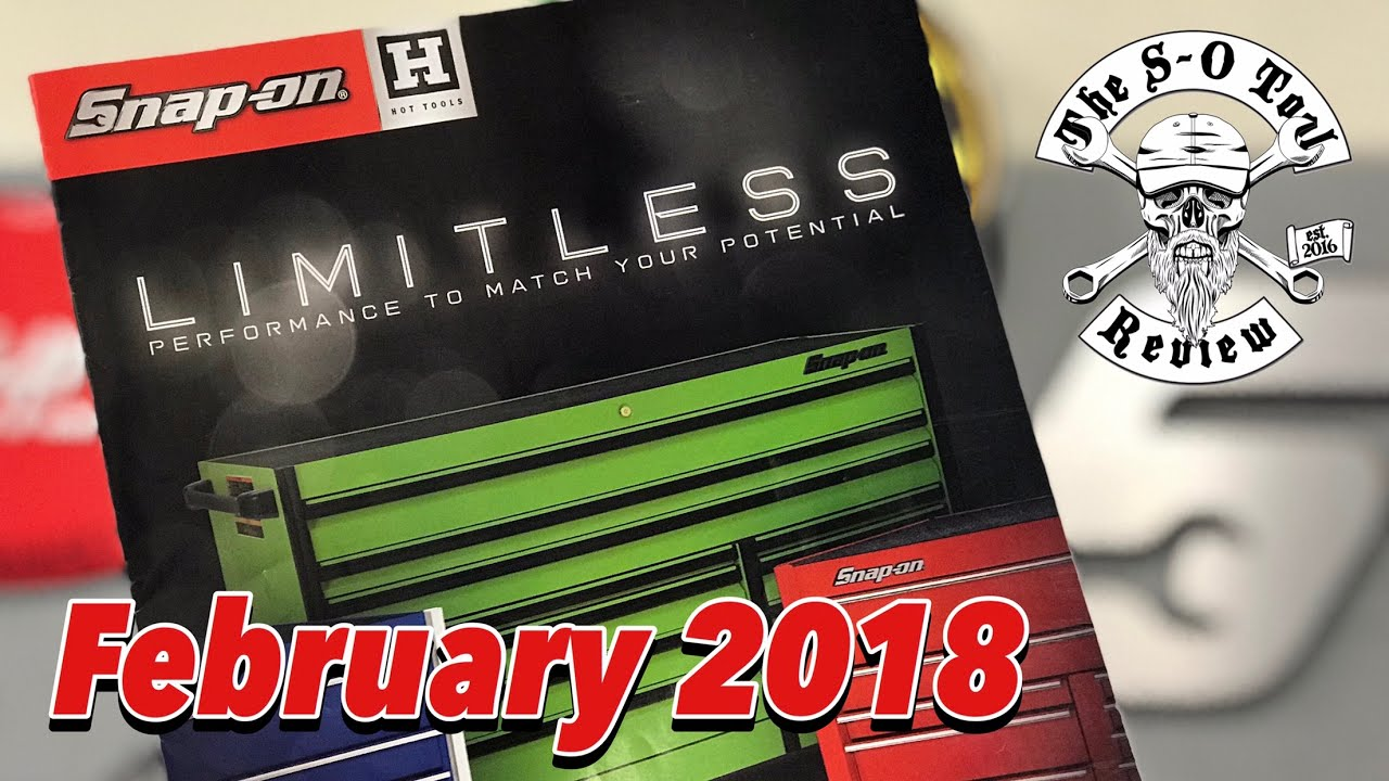 February 2018 SNAP-ON Hot Tools Flyer Review