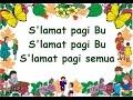 S'LAMAT PAGI BU (LIRIK) - Lagu Anak - Cipt. Pak Kasur - Musik Pompi S.