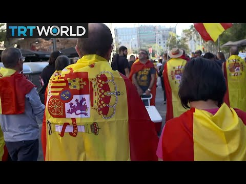 Catalan Crisis: Thousands rally against Catalan independence