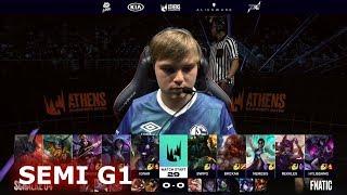 Gambar cover Fnatic vs Schalke 04 - Game 1 | Semi Final S9 LEC Summer 2019 Playoffs | S04 vs FNC G1