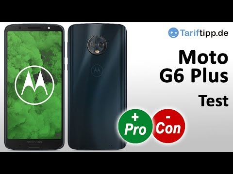 Motorola Moto G6 Plus   Test deutsch