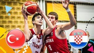 Turkey v Croatia - Full Game - FIBA U16 European Championship 2018