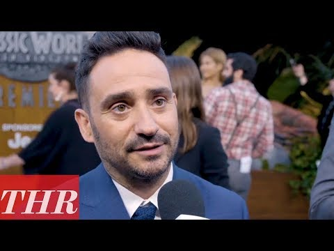 Director J.A. Bayona on the 'Jurassic World: Fallen Kingdom' Premiere Red Carpet  THR