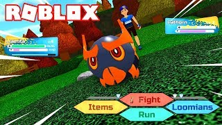 FIRST COMBATES in LOOMIAN LEGACY by ROBLOX! 💥