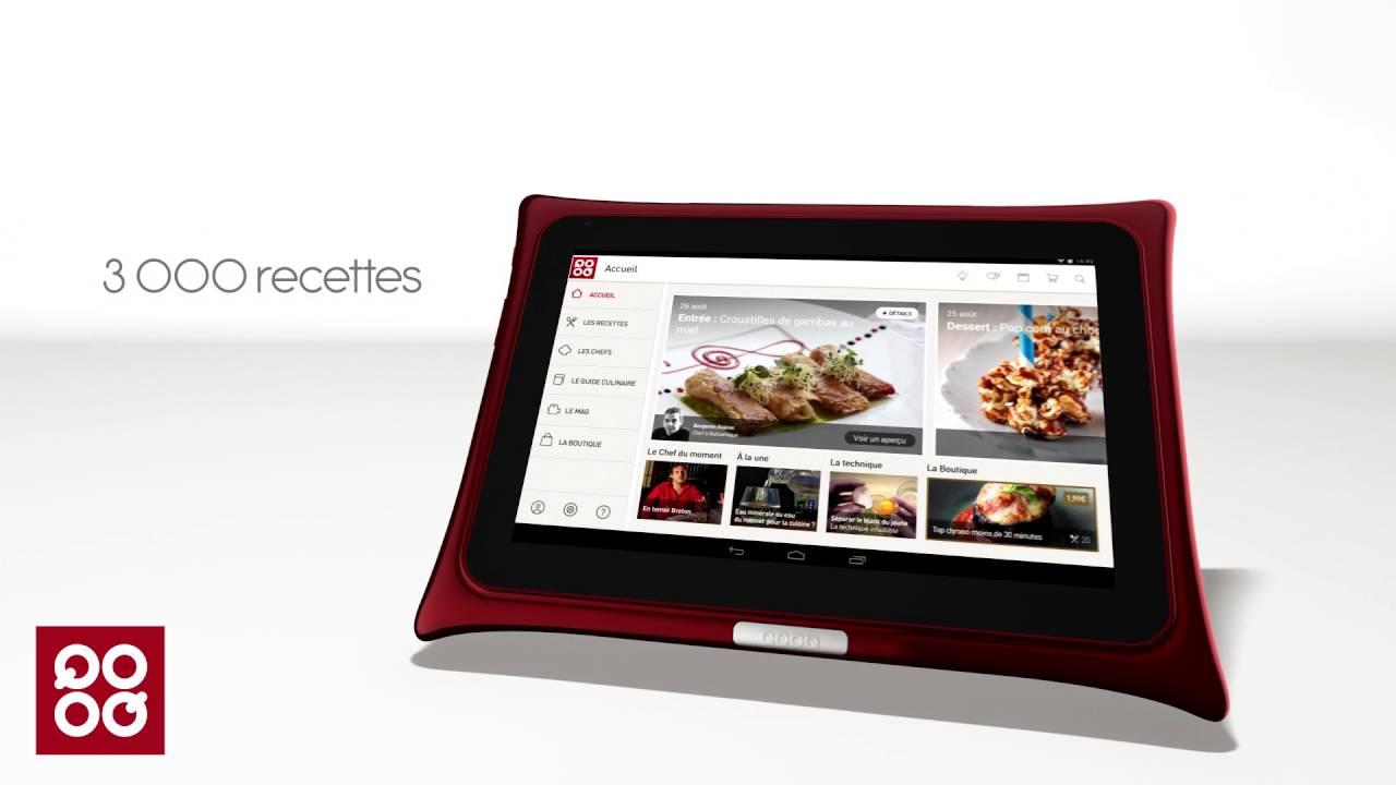 Qooq la tablette pour la cuisine qui est aussi une - Tablette pour la cuisine ...