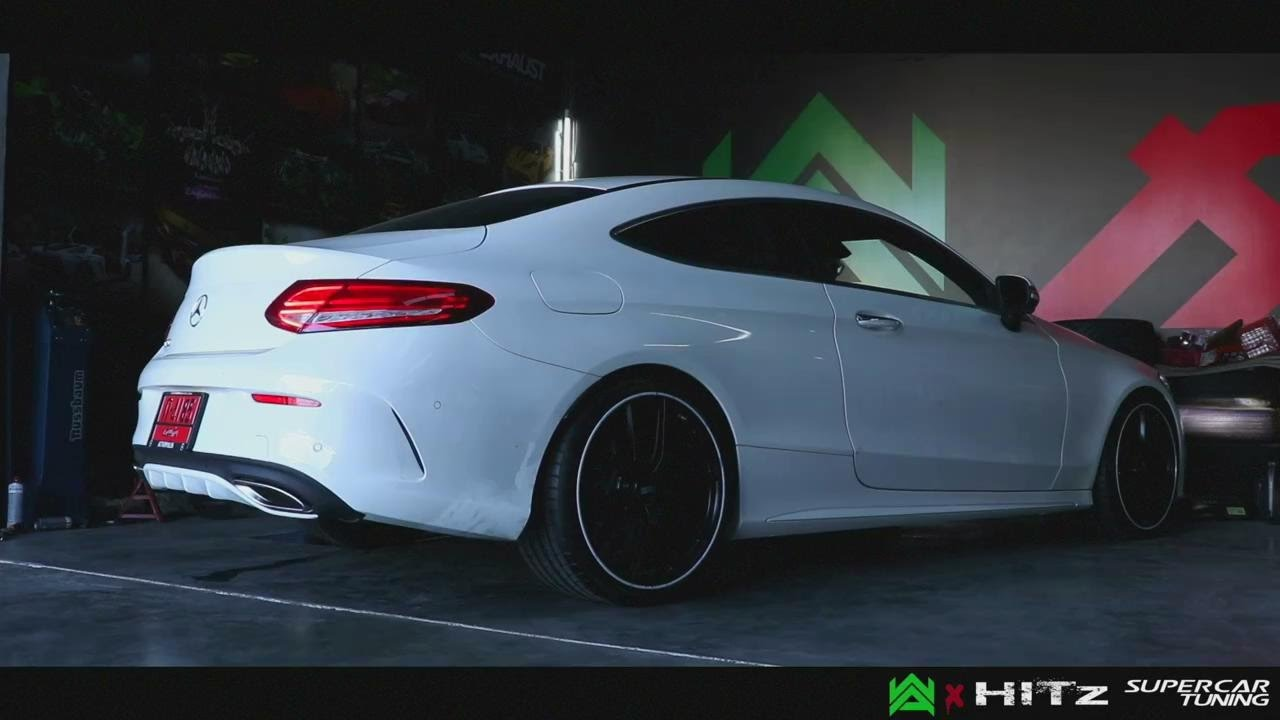 New Mercedes C250 Coupe W205 W Armytrix Valvetronic Exhaust By Hitzproject You