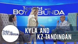 "TWBA: KZ Tandingan can't stand Kyla's version of ""Bahay Kubo"""