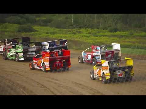 Modified Heat 8/25/2018, Pit View, Woodhull Raceway