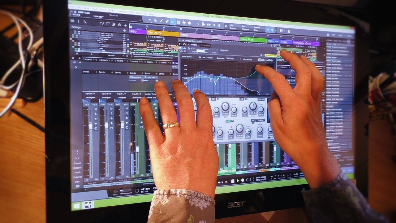 multi touch review of studio one v3 from presonus youtube. Black Bedroom Furniture Sets. Home Design Ideas
