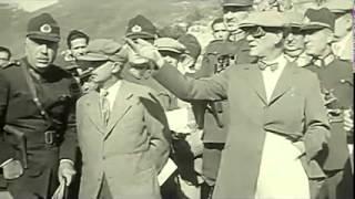 ATATÜRK 1930'LAR ÇOK NADİR YAKIN ÇEKİM GÖRÜNTÜLER