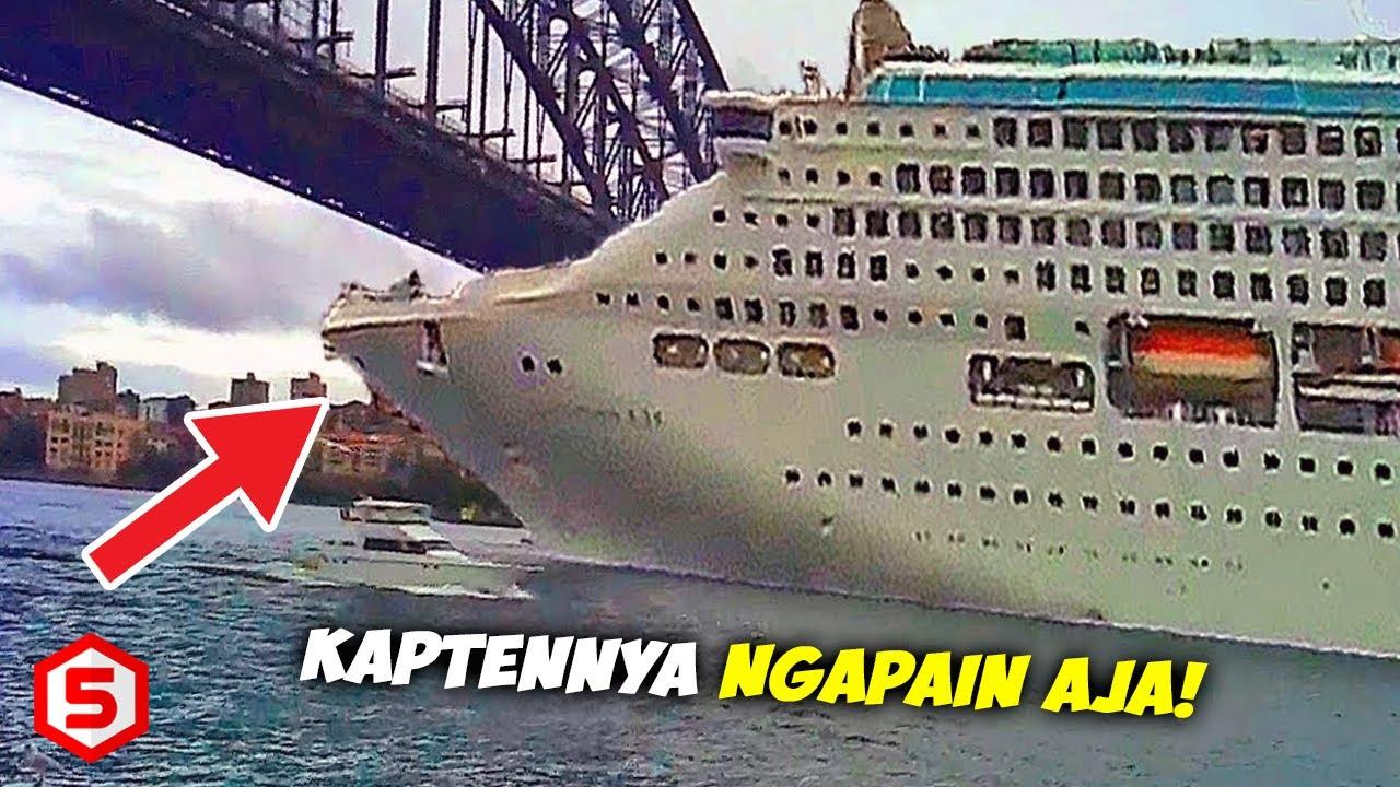 Download Penumpang Berhamburan, ini Detik-Detik INSIDEN Kapal terParah yg Sempat Terekam Kamera Dengan Jelas