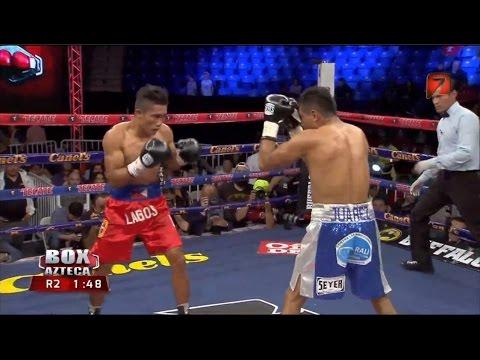 """Cesar """"Corazon"""" juarez vs Eugene """"Rambo"""" Lagos Tv Azteca"""