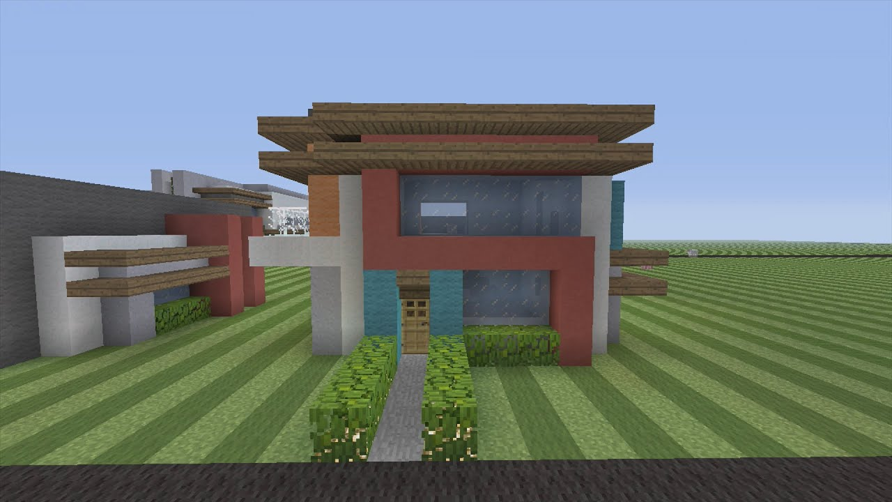 How to Build a Modern House in Minecraft YouTube