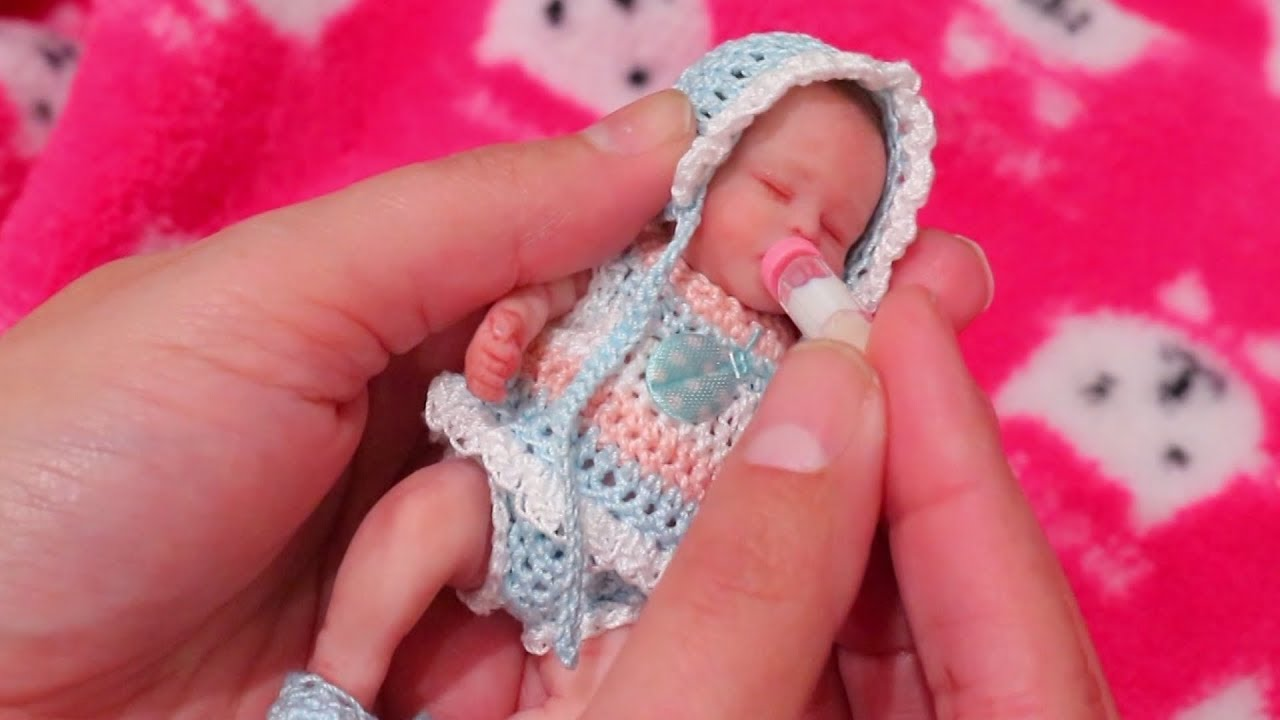 f482123b1 Baby Doll Play with Tiny Baby Gigi ! Toys and Dolls Fun for Kids ...