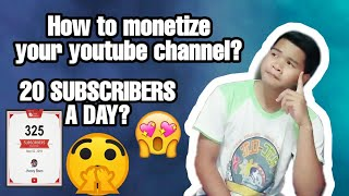 How to monetize your Youtube channel?| Tips