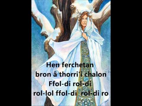 Welsh Folk Song - Hen Ferchetan (English Lyrics in description - Mae'r Gymraeg ar sgrin)