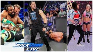 WWE SmackDown Live 18 June 2019 Highlights ! WWE SmackDown Live 06/18/19 Highlights !