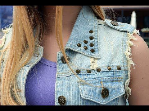 Жилетка женская джинсовая светлая 470K002-1