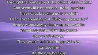 Jennifer Lopez - Stay Together, Lyrics In Video