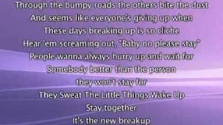 Jennifer Lopez - Stay Together, Lyrics In Video