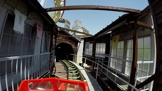【4K】 浅草花やしき ローラーコースター/Asakusa Hanayashiki Roller coaster