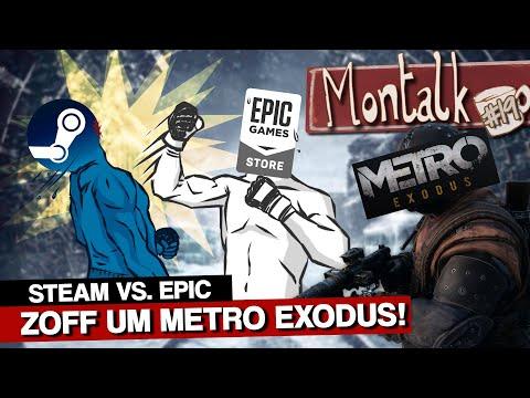 Steam-Fans rasten aus: Metro Exodus nur im Epic Store! | Montalk #19