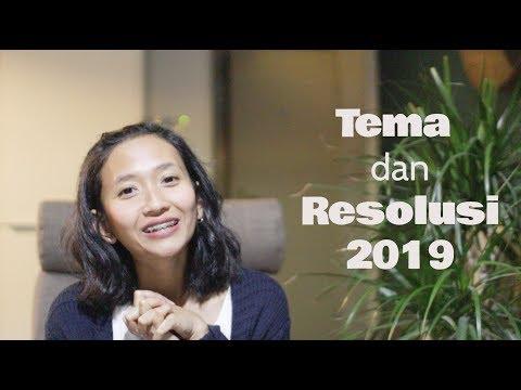 Tema dan goal/resolusi 2019 || Self growth