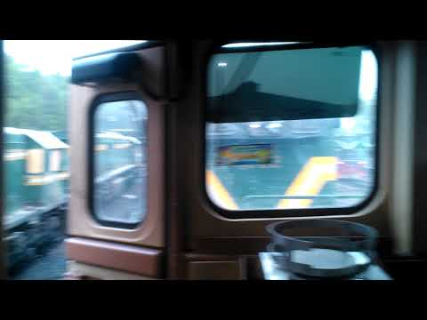 Pakistan Railways:Inside the Cab of GEU-40 at Loco Shed Karachi