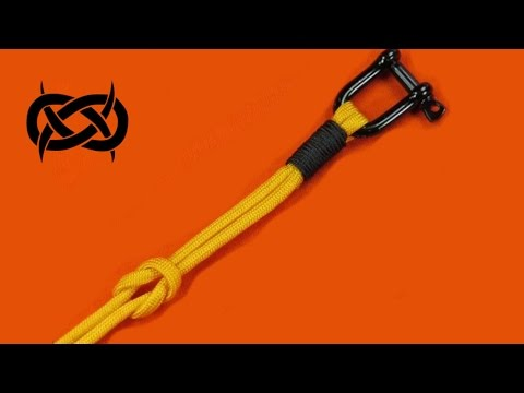 How to make a Tapiture/JLK (Style) Nautical Knot (Paracord)