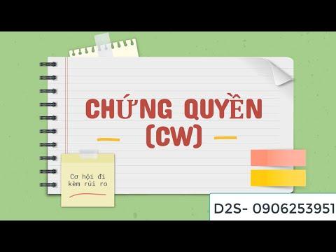 Cơ bản về chứng quyền ( CW)
