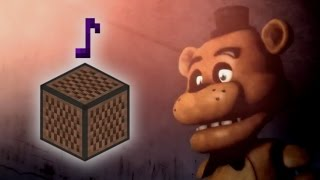 Cancion De Five Nights At Freddy´s   En Bloques De Nota!! - MINECRAFT Video