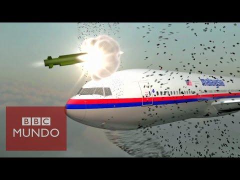 Así fue cómo un misil destruyó el avión del MH17 de Malaysia Airlines