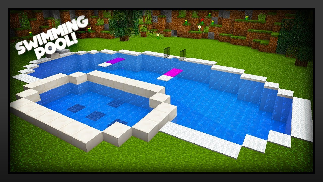 Kleiner Pool Diy Minecraft How To Make A Swimming Pool