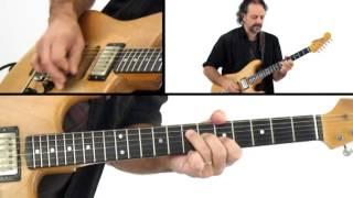 Jam Night - #74 Rhythm Performance - Blues Guitar Lesson - Andy Aledort