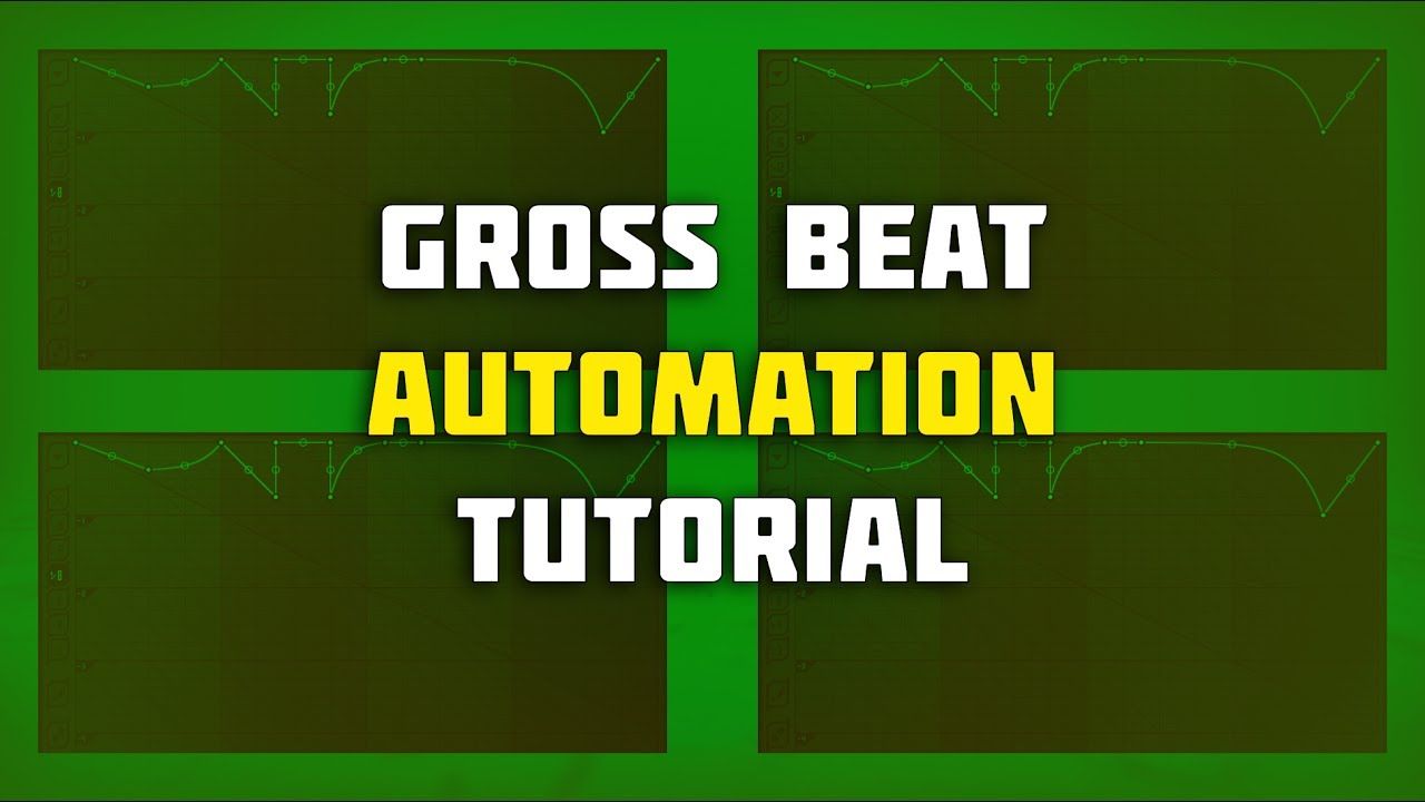 gross beat automation tutorial gross beat tutorial. Black Bedroom Furniture Sets. Home Design Ideas