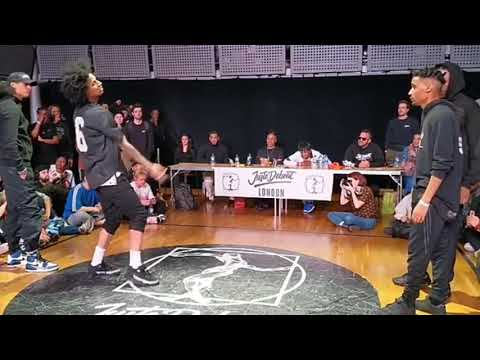 Les Twins VS Shin & Ice Juste Debout London Semi final 🔥🔥 (part 1)