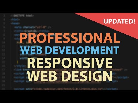 Responsive Design Tutorial Tips For Making Web Sites Look Great On Any Device Youtube