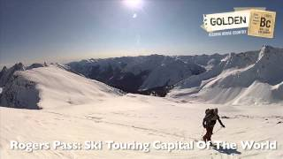 Backcountry Skiing in Golden, BC