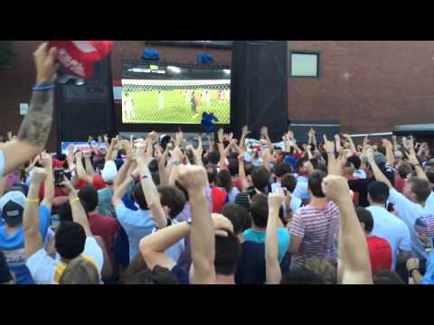 2014 World Cup US vs Ghana - John Brooks Goal