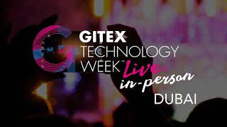 GITEX 2020 live, in-person. Believe the hype. It's...