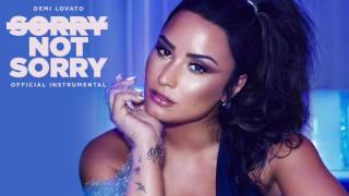 Demi Lovato - Sorry Not Sorry (Official Instrumental)
